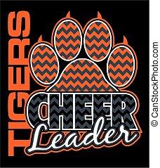 Tiger Cheerleader.