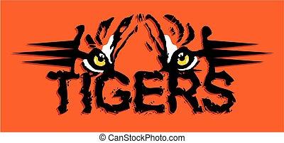 tiger, design