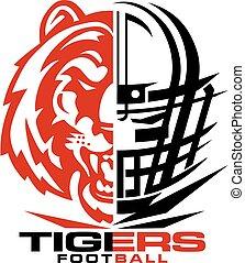 tiger, fußball