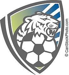 tiger-head-soccer-ball-shield-mascot