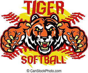 Tiger Softball.