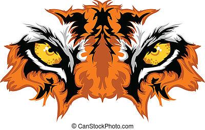 Tigeraugen maskottisch