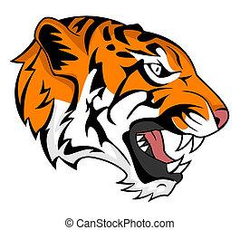 Tigerbrüllen.
