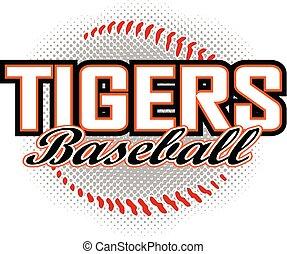 Tigers Baseball-Design