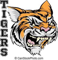 Tigers Sports Maskottchen.