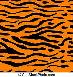 Tigerstreifen nahtlos Hintergrund.