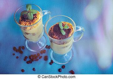 Tiramisu, traditionelles italienisches Dessert