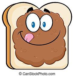 Toastbrot-Slice-Charakter.