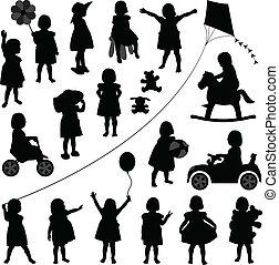 Toddler-Kinder-Baby-Mädchen