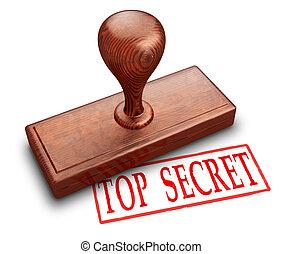 Top Secret Briefmarke