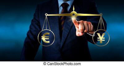 Torso setzt den Euro wie der Yuan