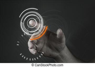 Touchscreen-Technologie.