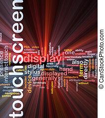 Touchscreen-Wort-Box-Paket