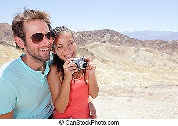 Touristen lieben das Todestal