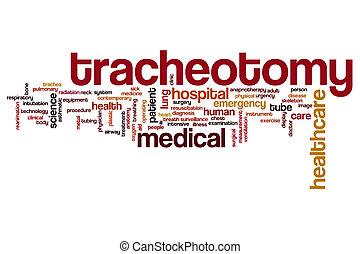 Tracheotomy Wortwolke.