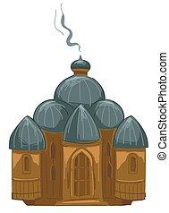 tradition, religion, christ, censer, rauchwolken