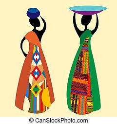 Traditionaler Afrikaner