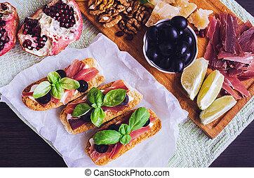 Traditionelle italienische Antipasto