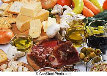 Traditionelle Lebensmittelzutaten