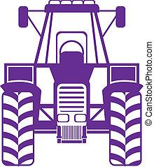 Traktorfront.