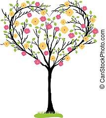 Tree herzförmig.