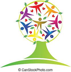 Tree-Teamwork-Logo