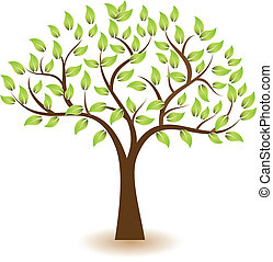 Tree Vektorsymbollogo.