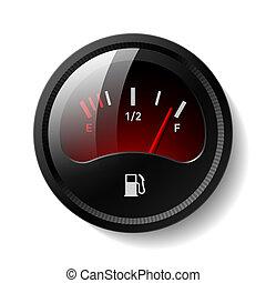 Treibstoffanzeige
