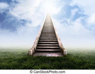 Treppe zum Himmel