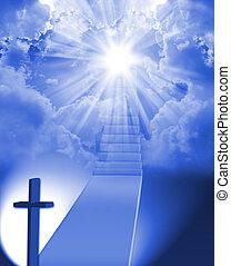 Treppe zum Himmel.