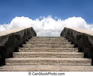 Treppe zum Himmelsstein
