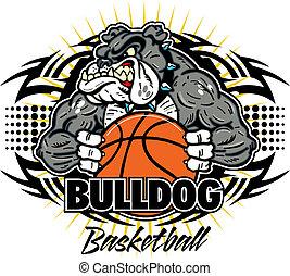 Tribal Bulldog-Basketball.