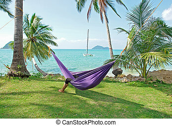 Tropische Ferien