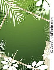 tropische , hintergrund