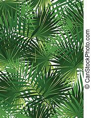Tropische Kohlpalme.