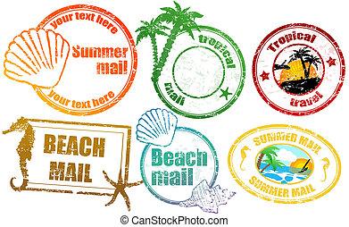Tropische Sommermarken
