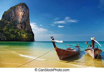 Tropischer Strand, andaman sea, thailand