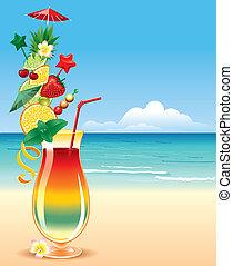 Tropisches Cocktai