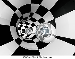 Tunnel-Käferglas.