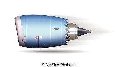 Turbo-Jet-Motor-Konzept.