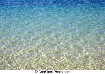 Turquoise Seascape. Schönheit in der Natur Tapete.