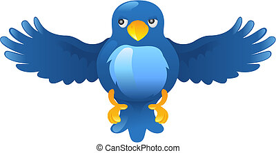 Twitter ing Bluebird Icon