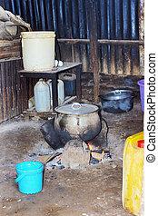 Typisch afrikanische Küche