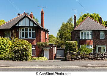 Typisch englische Häuser