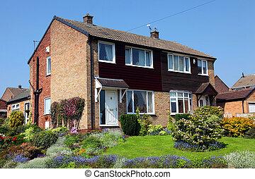 Typisch englisches Haus, uk