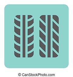 Tyre Mark Ikone.