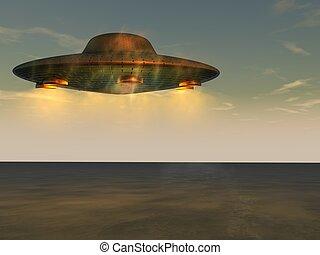 UFO - unbekanntes Flugobjekt