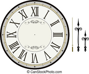 Uhren-Gesichtsbildschirm