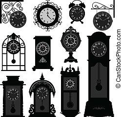 Uhrzeit antiken Oldtimer