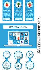 Ui, Infografische und Webelemente